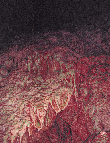 Cave Stitchings, detail