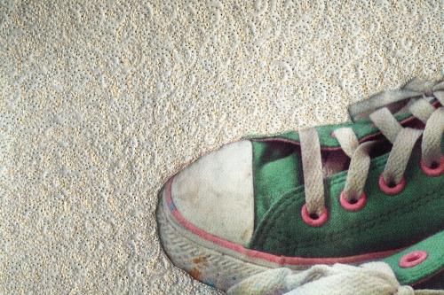 The Shoes In My Closet, detail view